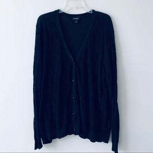 Torrid Black Cardigan